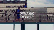 پروژه افترافکت افتتاحیه مدرن Dynamic Modern Opener
