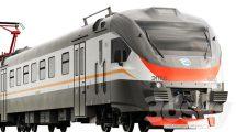 مدل سه بعدی قطار برقی Electric Train EP2D