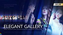 پروژه افترافکت گالری عکس Elegant Photo Gallery