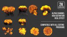 مجموعه فوتیج انفجار Explosion Footage Pack