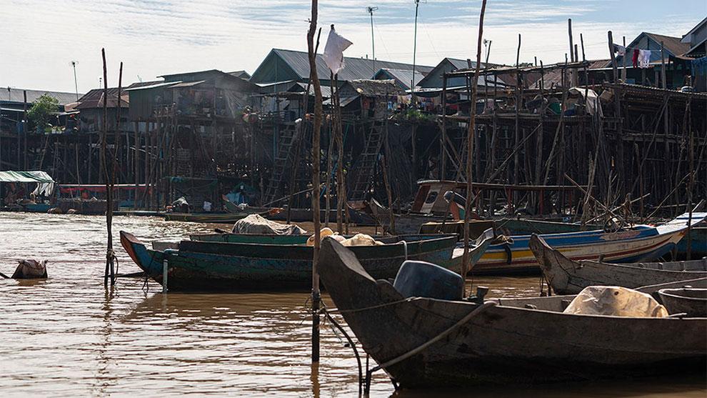 مجموعه تصاویر دهکده های شناور Floating Village
