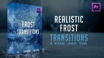 پروژه پریمیر مجموعه ترانزیشن یخ زدن Frost Transitions