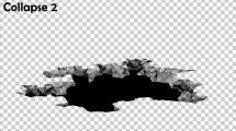 مجموعه فوتیج ریزش سطح زمین Ground Collapse Pack
