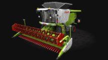مدل سه بعدی ماشین کشاورزی Harvester Claas Lexion 530