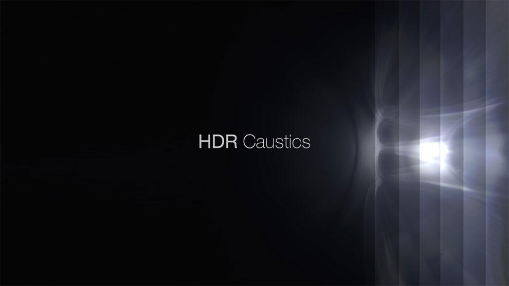 مجموعه تصاویر انعکاس پرتوهای نور HDR Caustics