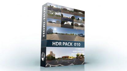 مجموعه تصاویر محیط شهری و حومه شهری HDRI Hub HDR Pack 010