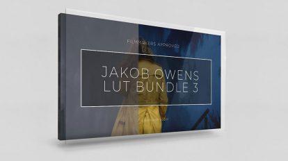 مجموعه پریست رنگ سینمایی Jakob Owens LUT Bundle 3