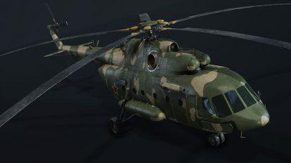 مدل سه بعدی هلیکوپتر جنگی Mi-17V-5 Military