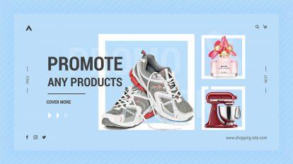 پروژه افترافکت تیزر تبلیغاتی فروشگاه آنلاین Online Shopping Promo