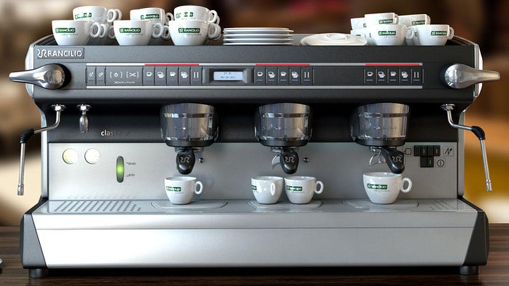 مدل سه بعدی دستگاه تهیه قهوه Professional Coffee Machine