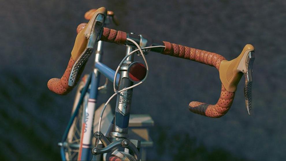 مدل سه بعدی دوچرخه جاده ای کلاسیک Classic Road Bike
