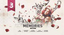 پروژه افترافکت اسلایدشو عروسی Romantic Wedding Memories Slideshow