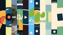 پروژه افترافکت مجموعه نمایش لوگو کوتاه Short Logo Reveal Pack