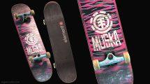 مدل سه بعدی اسکیت بورد Skate Board