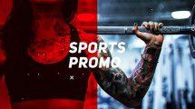 پروژه افترافکت افتتاحیه ورزشی Sports Promo Opener