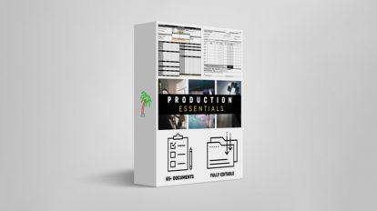 مجموعه اجزای ضروری تولید فیلم Tropic Colour Production Essentials