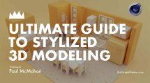 دوره آموزشی مدلسازی سه بعدی با استایل کارتونی در سینمافوردی