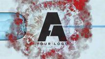 پروژه افترافکت نمایش لوگو زیر میکروسکوپ Virus Reveal