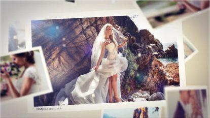 پروژه افترافکت اسلایدشو عروسی Wedding Mist Slideshow