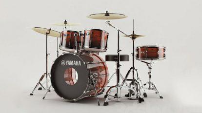 مدل سه بعدی درام یاماها Yamaha Recording Custom