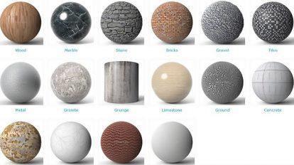 مجموعه تکسچر برای کار معماری Poliigon Architecture Textures