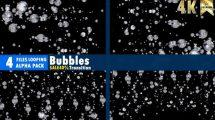 مجموعه فوتیج حباب آب Bubbles