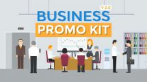 پروژه افترافکت تیزر تبلیغاتی کسب و کار Business Promo