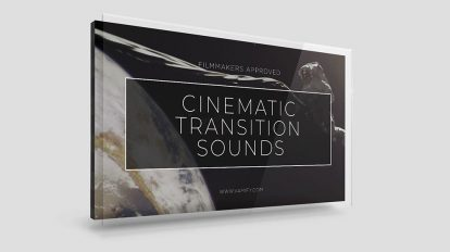 مجموعه افکت های صوتی ترانزیشن سینمایی Cinematic Transition Sounds