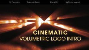 پروژه افترافکت نمایش لوگو سینمایی Cinematic Volumetric Logo Intro