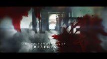 پروژه افترافکت تریلر ترسناک Dark and Bloody Horror Trailer