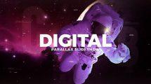 پروژه افترافکت اسلایدشو پارالکس دیجیتال Digital Parallax Slideshow
