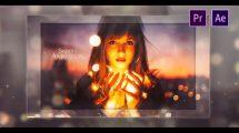 پروژه پریمیر اسلایدشو با مکعب Elegant Cube Slideshow