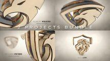 پروژه افترافکت نمایش لوگو حماسی Gold Luxury and Epic Logo Reveal