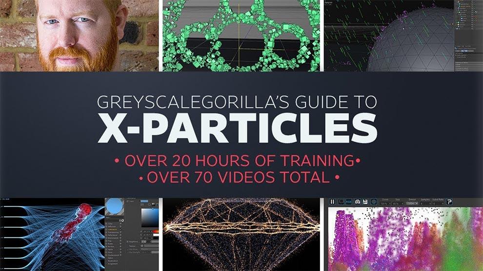 دوره آموزشی جامع پلاگین X-Particles در سینمافوردی