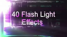 مجموعه فوتیج ترانزیشن فلش نور Light Flash Transitions