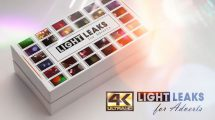 مجموعه فوتیج افکت نور برای تیزر تبلیغاتی Light Leaks for Adverts