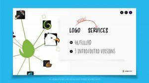 پروژه افترافکت نمایش لوگو اینترو Logo Reveals Services