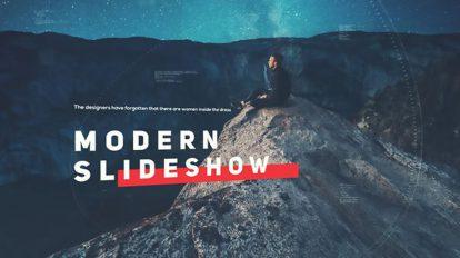 پروژه افترافکت اسلایدشو مدرن Modern Slideshow