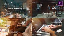 پروژه پریمیر اسلایدشو تایم لاین مدرن Modern Timeline Slideshow