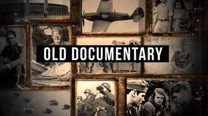 پروژه افترافکت افتتاحیه مستند حماسی Old Epic Documentary Opener