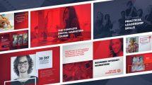پروژه افترافکت تیزر تبلیغاتی دوره آنلاین Online Educational Course Promo