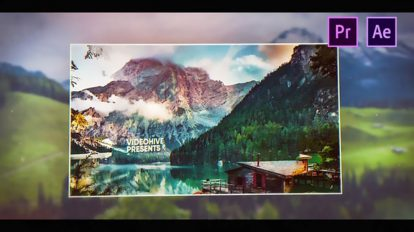 پروژه پریمیر اسلایدشو عکس Parallax Picture Slideshow