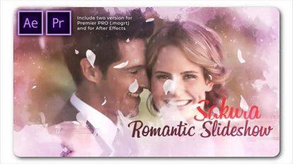 پروژه افترافکت اسلایدشو عروسی Wedding Cinematic Slideshow