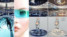 مجموعه مدل سه بعدی تکنولوژی پیشرفته Sci-Fi Essentials