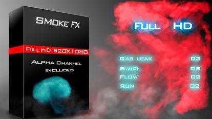 مجموعه فوتیج دود Smoke FX