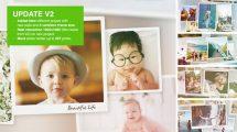 پروژه افترافکت اسلایدشو عکس خاطرات Special Moments Photo Slideshow