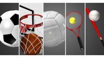 مجموعه فوتیج ترانزیشن ورزشی Sport Transitions Pack