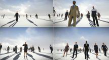 فوتیج موشن گرافیک کاراکترهای شرکتی Successful People