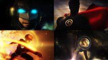 پروژه افترافکت نمایش لوگو ابرقهرمان Super Epic Hero Logo