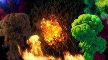 مجموعه فوتیج دود برای جلوه های ویژه VFX Collections
